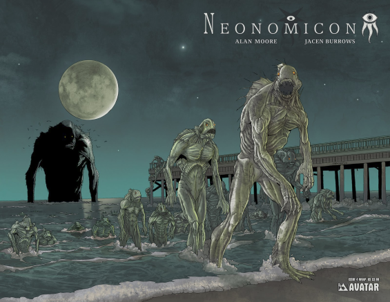 Neonomicon by Allan Moore and Jacen Burrows