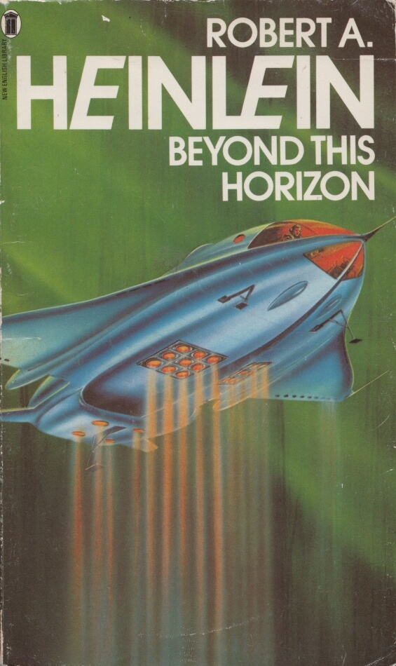 New English Library - Beyond This Horizon by Robert A. Heinlein