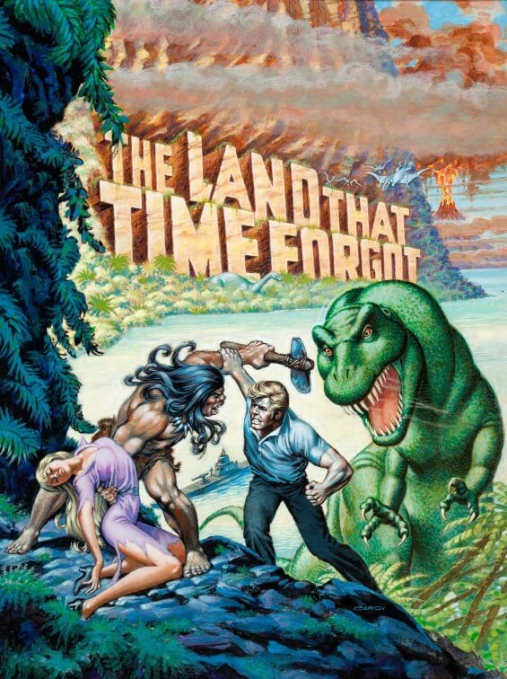 Nick Cardy illustration of The Land That Time Forgot