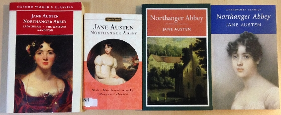 Northanger Abbey by Jane Austen (paperbacks)