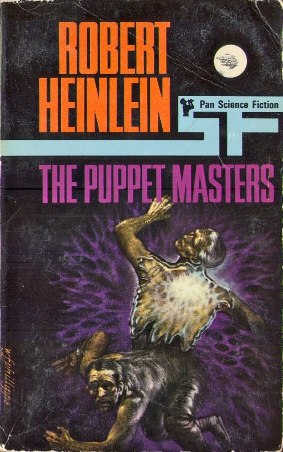 PAN Science Fiction - The Puppet Masters by Robert A. Heinlein