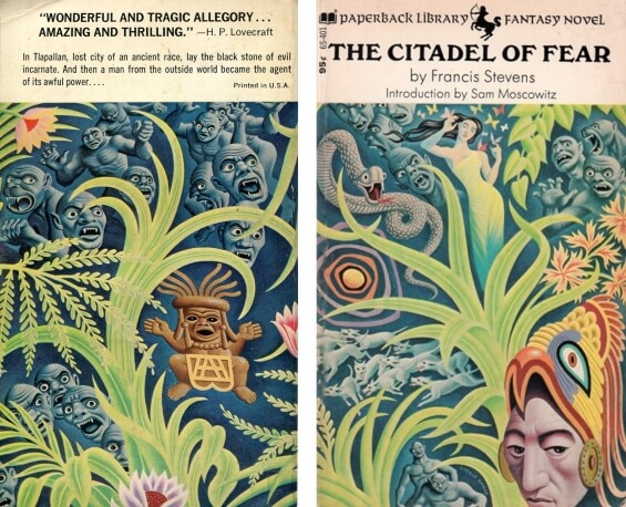 PAPERBACK LIBRARY - Citadel Of Fear by Francis Stevens