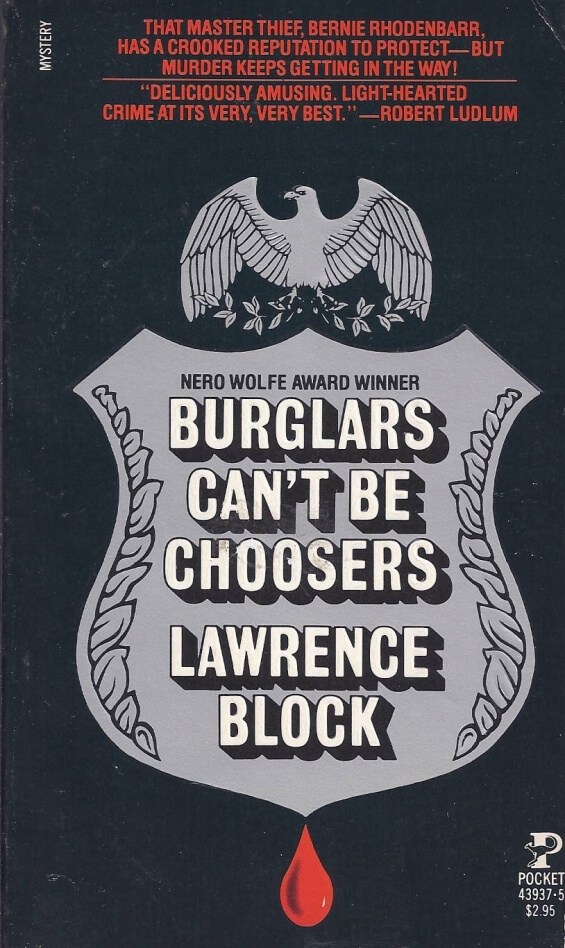 POCKET BOOKS - Burglars Can't Be Choosers by Lawrence Block