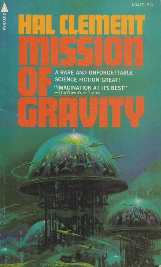 PYRAMID BOOKS - Mission Of Gravity by Hal Clement