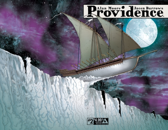 Providence 02 - The White Ship illustration by Jacen Burrows