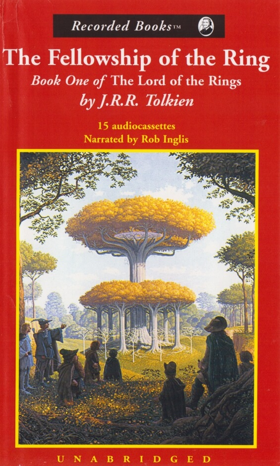 RECORDED BOOKS - The Fellowship Of The Ring by J.R.R. Tolkien