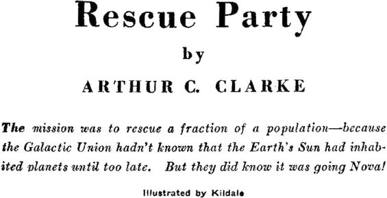 Rescue Party by Arthur C. Clarke