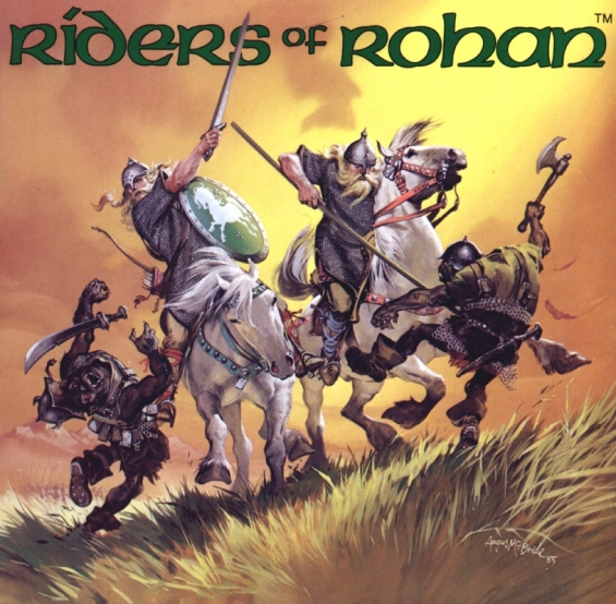 M.E.R.P. - Riders Of Rohan illustration by Angus McBride