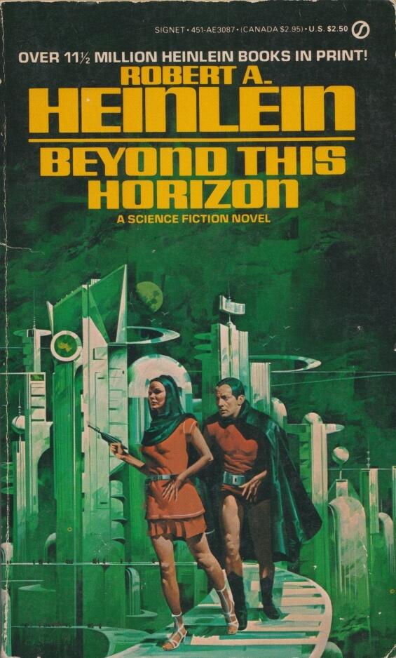 SIGNET - Beyond This Horizon by Robert A. Heinlein