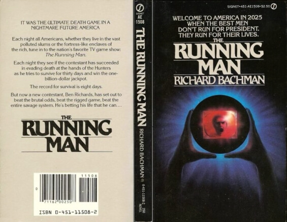 Signet - The Running Man by Richard Bachman