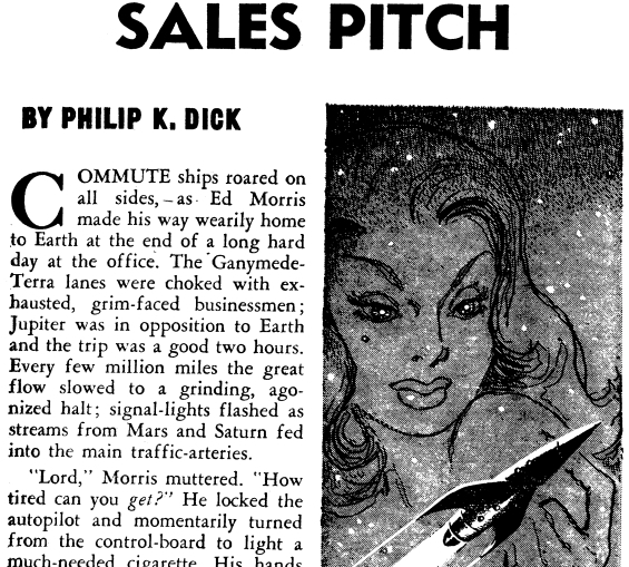 Sales Pitch by Philip K. Dick
