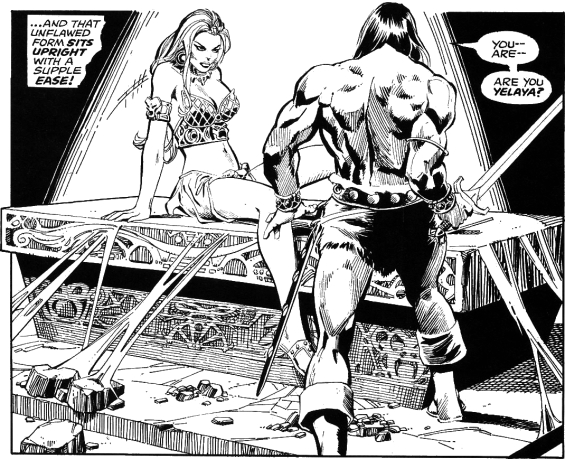 Savage Sword Of Conan - Jewels Of Gwahlur illustrated by Dick Giordano