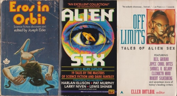 Science Fiction Alien Sex Anthologies