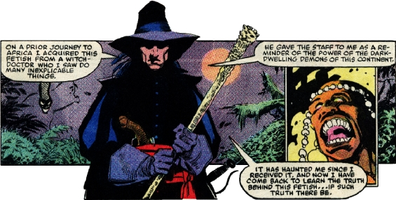 Solomon Kane's Fetish Staff