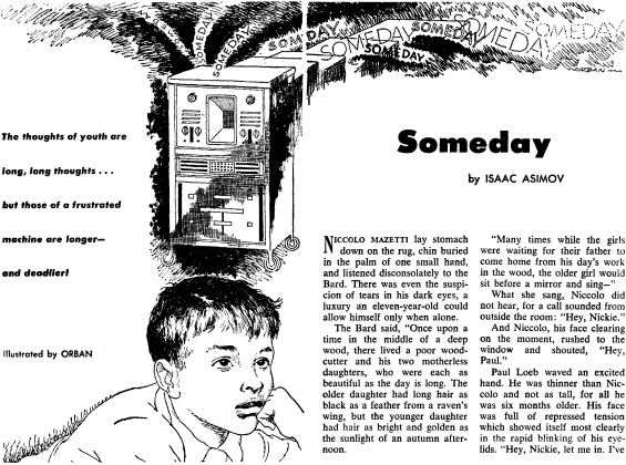 Someday by Isaac Asimov