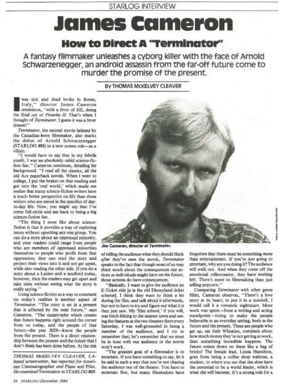 Starlog, December 1984