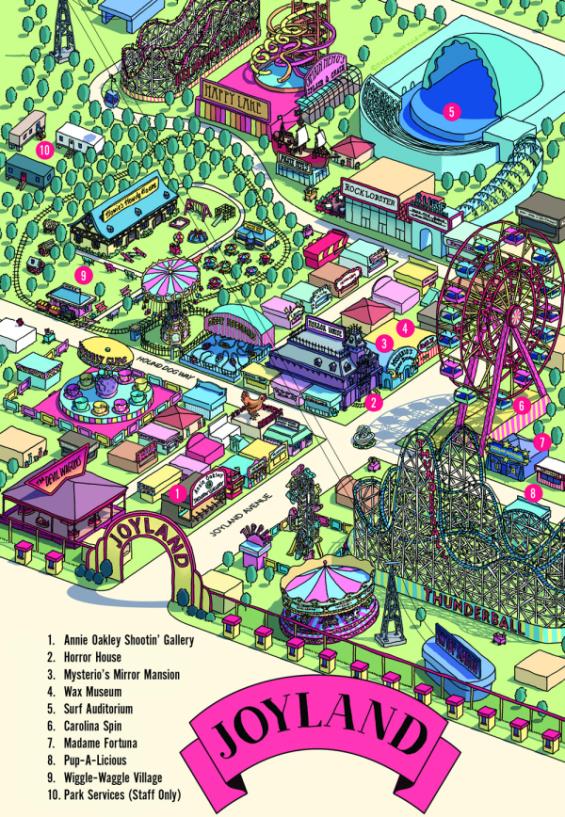 Stephen King's Joyland - Mapback