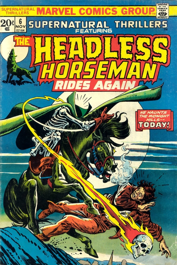 Supernatural Thrillers - The Headless Horseman Rides Again