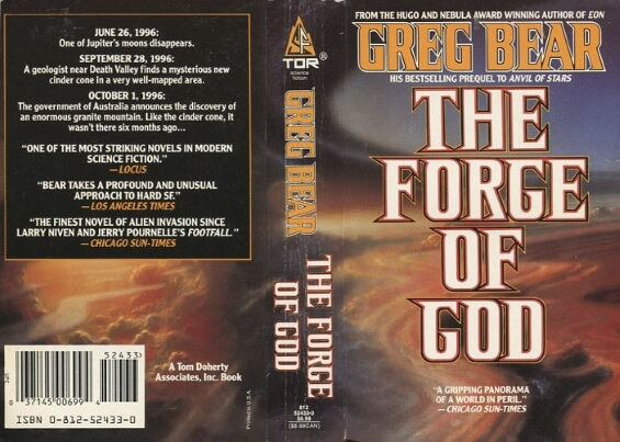 TOR - The Forge Of God by Greg Bear