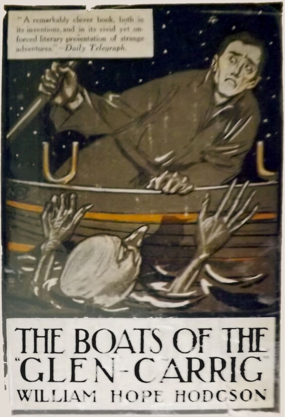 The Boats Of The Glen-Carrig - dust-jacket