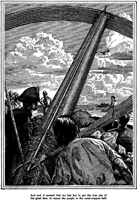 The Boats Of The Glen Carrig - illustration by Lawrence Sterne Stevens