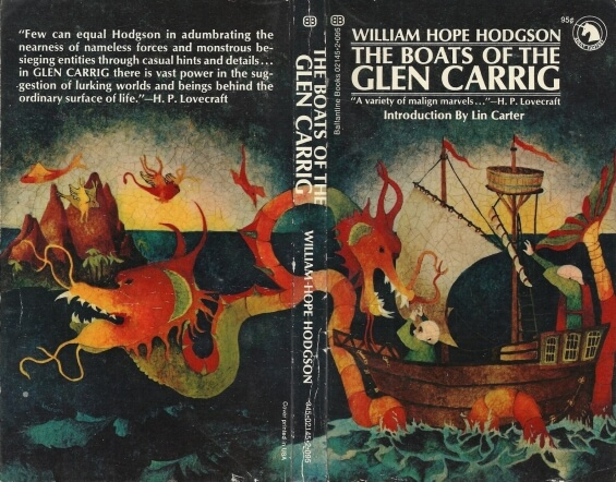 The Boats Of The Glen Carrig - illustration by Robert LoGrippo