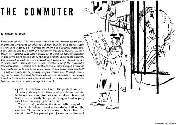 The Commuter by Philip K. Dick from Amazing Stories, August-September 1953