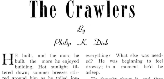 The Crawlers by Philip K. Dick