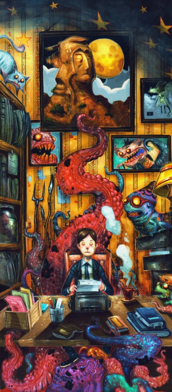 The Dream-Quest Of Unknown Kadath by H.P. Lovecraft - illustration by Leong Wan Kok