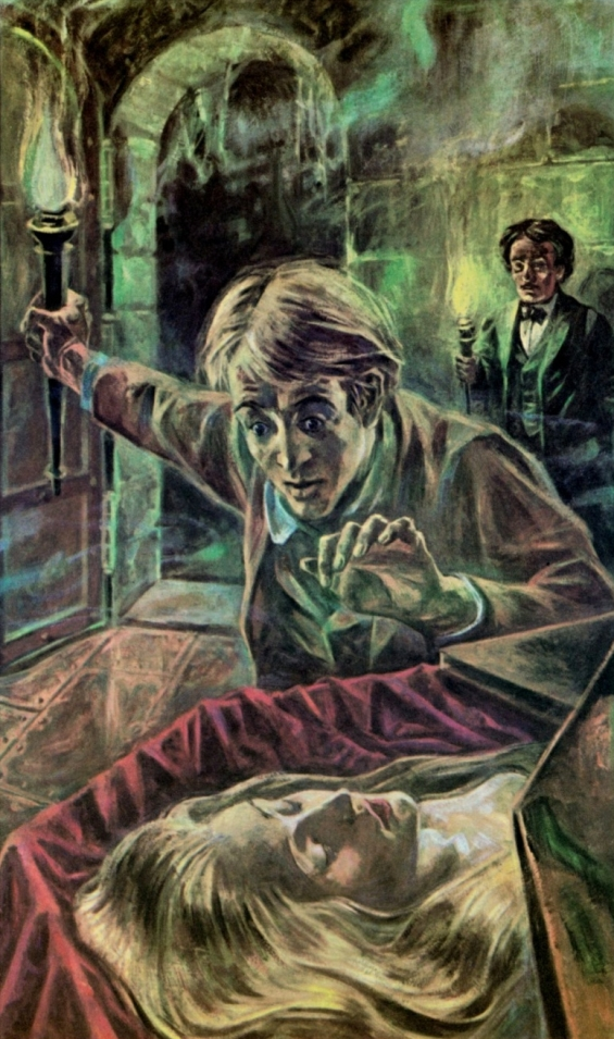 The Fall Of The House Of Usher - illustration by Russell Hoban (1963)