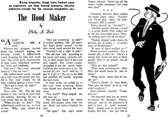 The Hood Maker by Philip K. Dick
