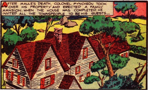 The House Of The Seven Gables - Classics Illustrated