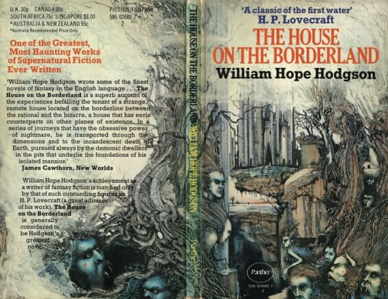 The House On The Borderland by William Hope Hodgson - illustration by Ian Miller