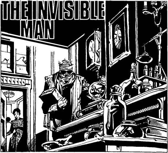 The Invisible Man by H.G. Wells - POCKET CLASSICS