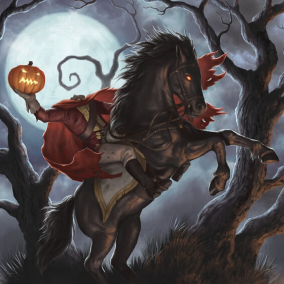The Legend Of Sleepy Hollow by Washington Irving - illustration by Jason Juta