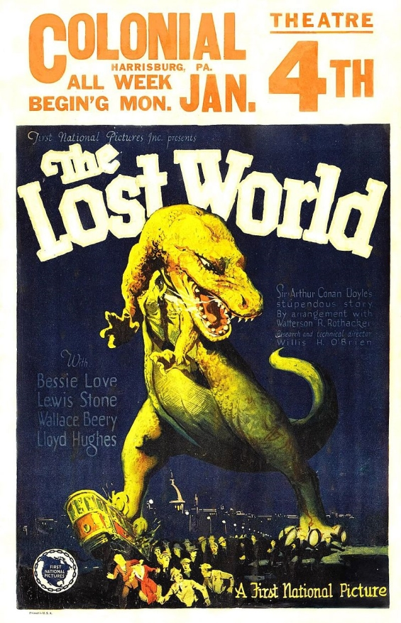 The Lost World (1925) film poster