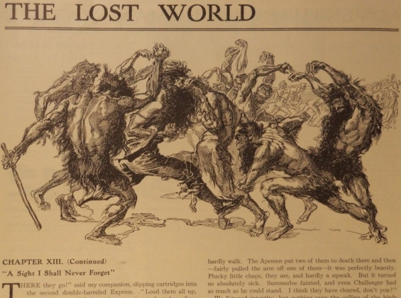 The Lost World - Chapter 8 from The Sunday Star June 23, 1912