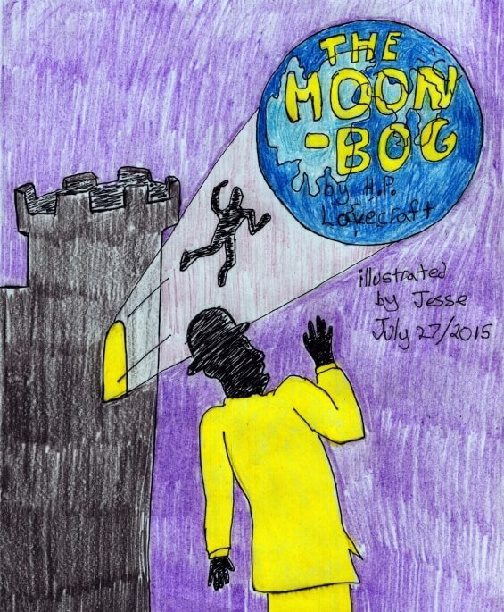 The Moon Bog by H.P. Lovecraft - illustrated by Jesse