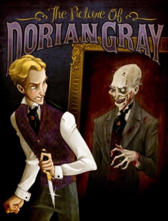The Picture Of Dorian Gray by Oscar Wilde - illustration by Lisa K. Weber