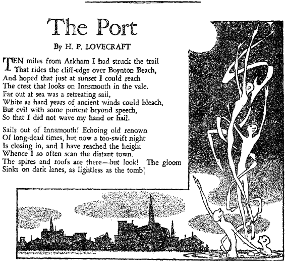 The Port by H.P. Lovecraft
