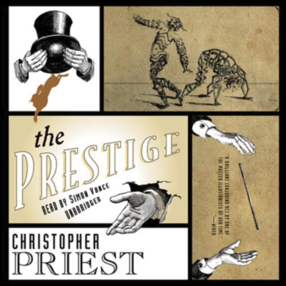 The Prestige by Christopher Priest - read by Simon Vance