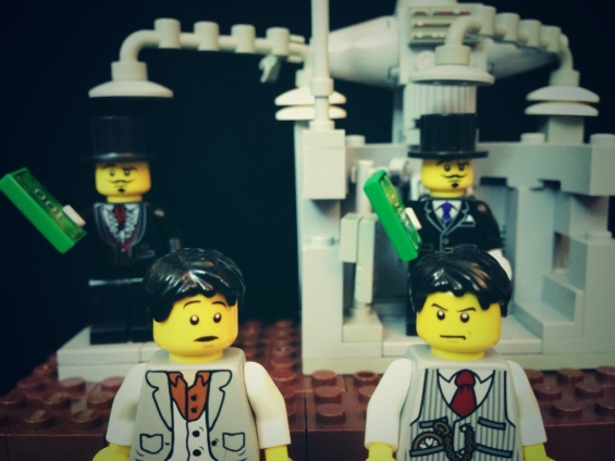 The Prestige - LEGOized