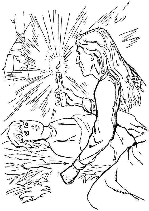 The Prince And The Pauper by Mark Twain - illustration by Charles Beck