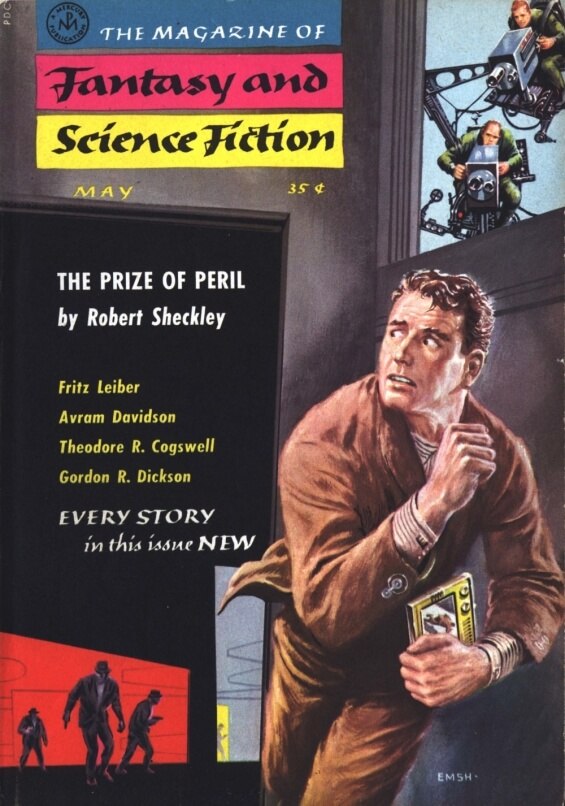 The Prize Of Peril by Robert Sheckley