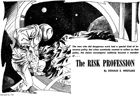 The Risk Profession by Donald E. Westlake - illustrated by Ivie