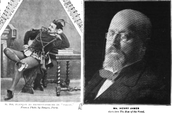 The Strand Magazine 1899 had two candidates for Mephistopheles