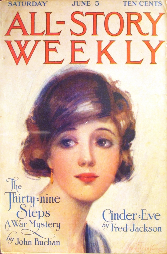 The Thirty-Nine Steps by John Buchan - All-Story Weekly,  June 5th, 1915