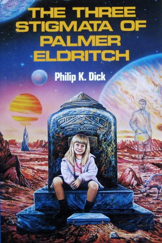 The Three Stigmata Of Plamer Eldritch by Philip K. Dick - illustration by Ron Walotsky