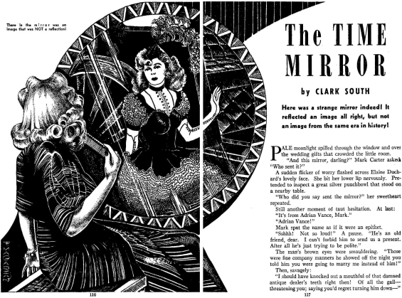 The Time Mirror by Dwight V. Swain