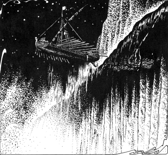 The White Ship - illustrated by Jason Eckhardt
